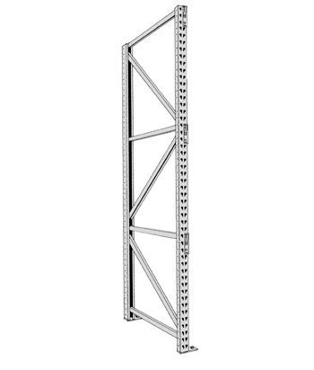 "144"" Pallet Rack Uprights"